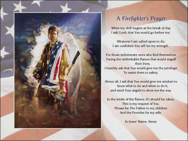 a firefighters prayer