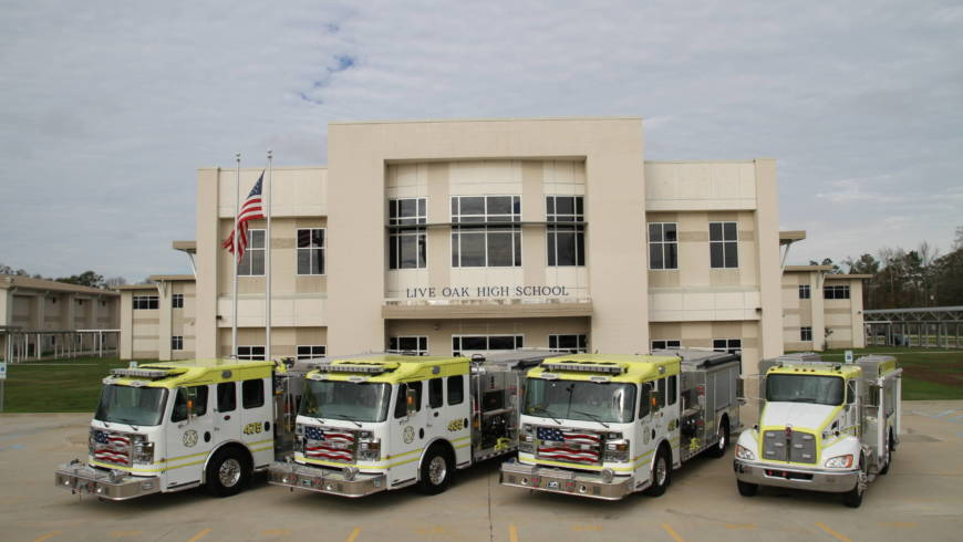 New LPFPD4 fire vehicles
