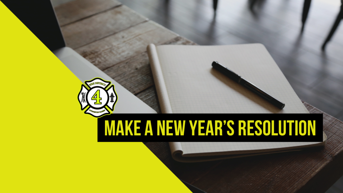 Make a New Year's Resolution to be Better Prepared
